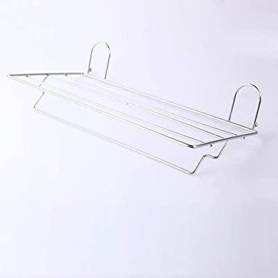 91873040f EQEQ Strong Suction Cups Stainless Steel Towel Rack Towel Rack Shelf  Bathroom Bath Rooms Free Suite