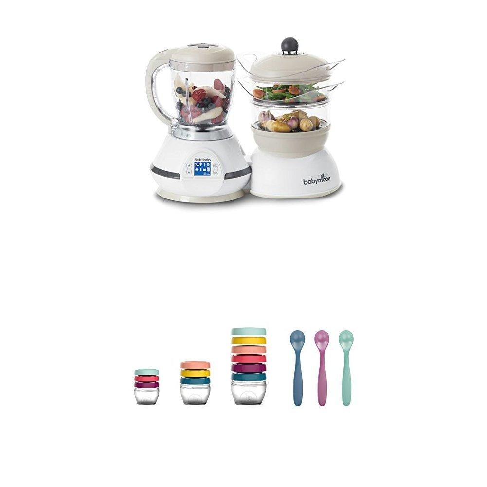 Babymoov Nutribaby Classic A001115 - Procesador de alimentos para ...