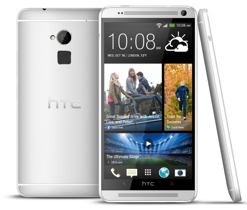 HTC ONE MAX IN SILVER 16GB FACTORY UNLOCKED GSM 4G/LTE CELL PHONE