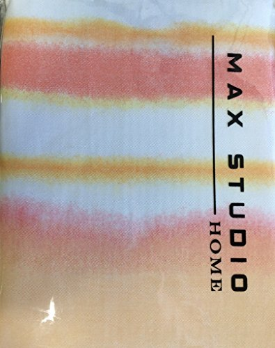 Max Studio Home Shower Curtain Watercolor Stripe Ombre