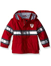 Baby Boys' Little Man Rain Slicker Raincoat
