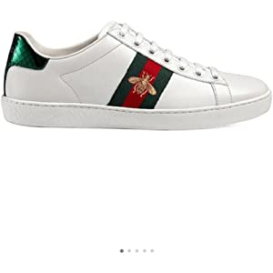 8a2be2d53d2 Simple-Gucci New Style Women s Shoes Leather Embroidery Small Bee Sports  Shoes Casual Shoes White