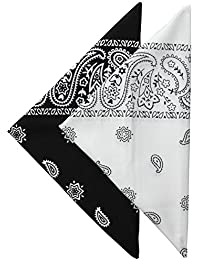 Men's 100% Cotton Bandana Headband Gift Sets