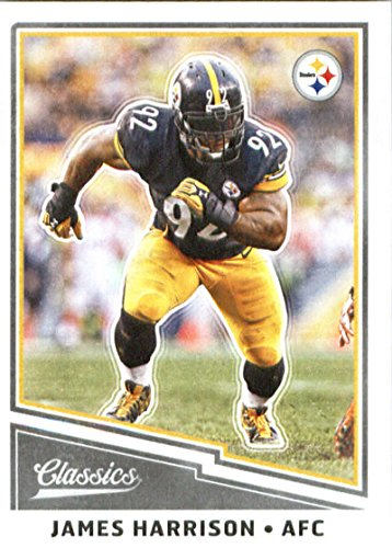 2017 Panini Classic #52 James Harrison Pittsburgh Steelers Football Card - James Harrison Football