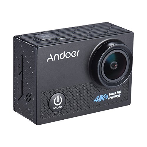 Andoer AN5000 4K 24fps WiFi Sports Action Camera Ultra HD 20MP 1080P 60fps Waterproof 30m Gyroscope Anti-shake Support 5X Zoom 2