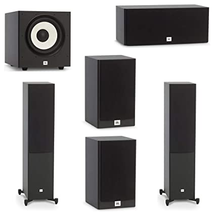 Jbl Home Speakers >> Amazon Com Jbl 5 1 System With 2 Jbl Stage A180 Floorstanding