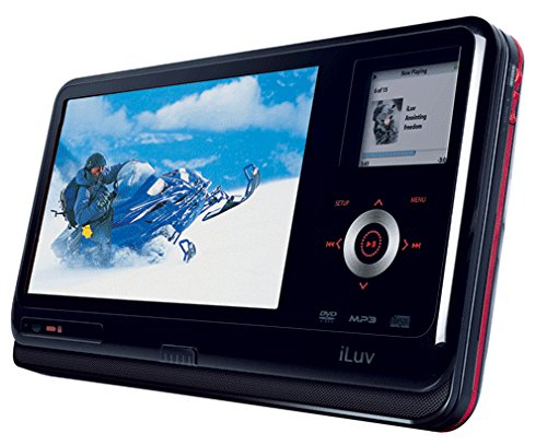 Iluv I1155 8.4-Inch LCD Portable DVD Player with iPod Dock