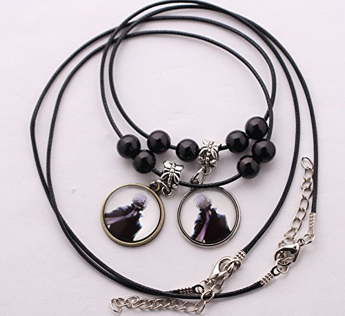 Tokyo Ghoul Cosplay Couple Pendant Necklace -2 Pcs
