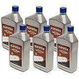Kinetix 6PK Quart Chainsaw Bar & Chain Oil 80009 for Echo Stihl Husqvarna Poulan