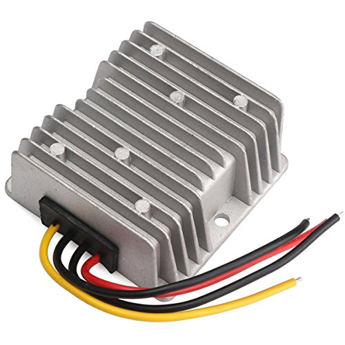 JahyShow US Ship DC to DC 12v Step Up to 24V 3A 72W Waterproof Converter Voltage Regulator Module Transformer