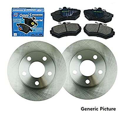 Amazoncom FK Fits Acura TL L Rear Left Right - 2003 acura tl rotors