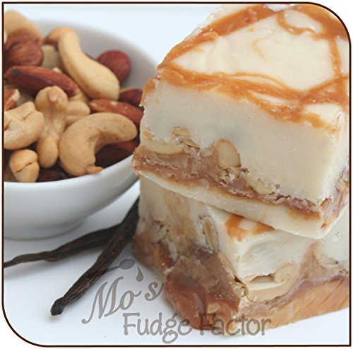 Caramel Vanilla Fudge - Mo's Fudge Factor, Vanilla Caramel Nut Fudge (1/2 Pound)
