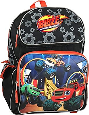 """Nickelodeon Blaze and the Monster Machines Large 16"""" Backpack"""