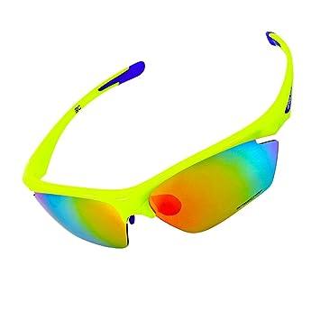 vitalite-basecamp de plein air Cyclisme lunettes de soleil polarisées avec 5lentilles de groupe, vert