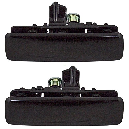 - Driver and Passenger Front Outside Outer Door Handles Replacement for Chevrolet GMC Oldsmobile Van 12545595 12545596