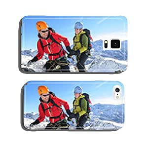 Teamwork in the high mountains cell phone cover case iPhone6