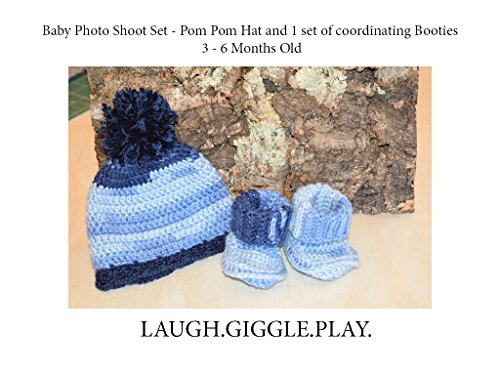 - Pom Pom Hat and Booties