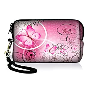 SpecialBag Neoprene Camera Case,Soft Digital Camera Case Bag for Canon,Sony,Nikon and other Point and Shoot Digital Cameras,Zip Coin Purse,Cell Phone Case Bag for Iphone 4/4s/5/6s and Other small electronics FY-HDC-009