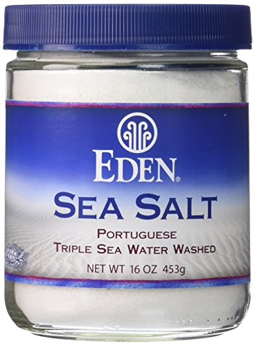 Eden Foods Sea Salt, Portuguese, -