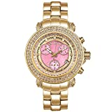 Joe Rodeo JRO15 Rio Diamond Watch, Pink Dial