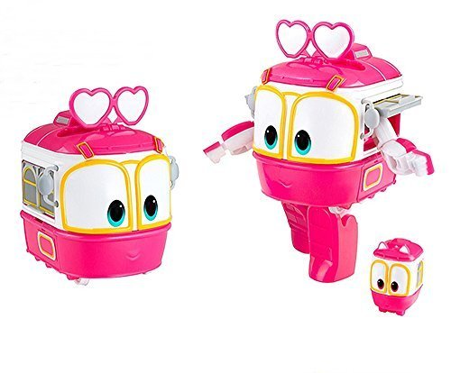 """Animation Characters """"Kay"""" Toy, Kids, Child, Korean Animation """"Robot Train""""Transformer Train Robot character"""