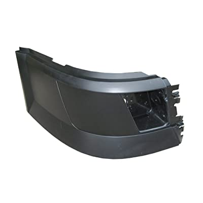 PetaParts PBP 31-006 Passenger Side Bumper End with Opening for Volvo VNL: Automotive