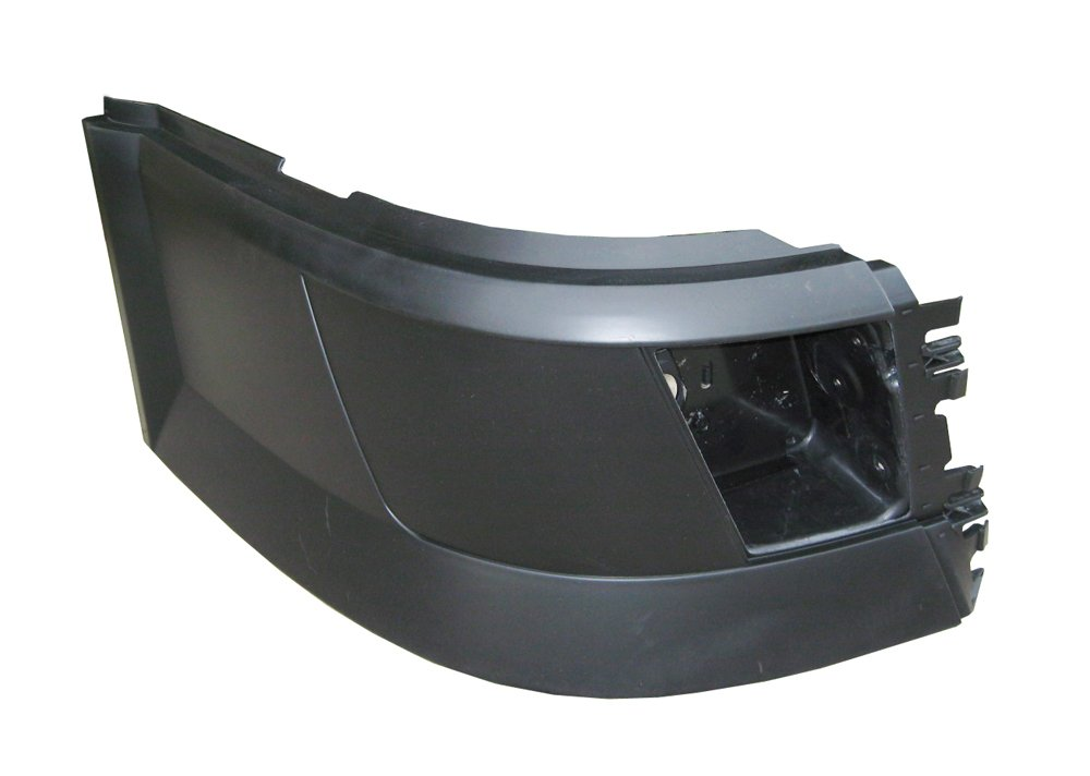 PetaParts PBP 31-006 Passenger Side Bumper End with Opening for Volvo VNL