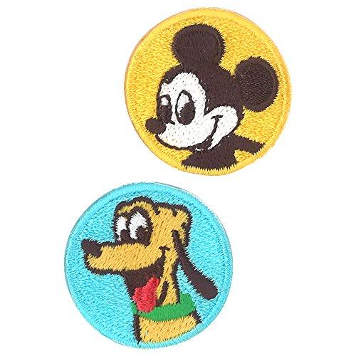 ミノダ ディズニーキャラクター シールワッペン ミッキー&プルート 小 D01Y9155の商品画像