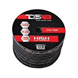 DS18 PW-8GA-250BK-2pk 250-Feet 8 Gauge Power Cable (Black) - Set of 2