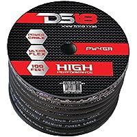 DS18 PW-0GA-50BK 50-Feet True 0-Gauge Ultra Flex Power Cable (Black)