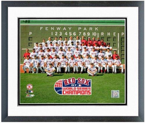 2007 Boston Red Sox Framed - MLB Boston Red Sox 2007 World Series Champions Formal Team Photo 12.5