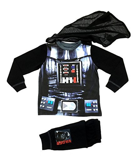 Lora Dora Little Boys' Fancy Dress Up Play Costumes Pyjamas Set Buzz Lightyear 2-3 Years Darth Vader Dress (Buzz Lightyear Dressing Up Costume)