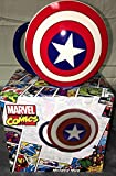 shield marvel mug - Marvel Comics Captain America Coffee Mug Ceramic Large Shield