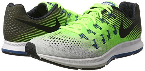 Nike Air Zoom Pegasus 33, Zapatillas de Running Para Hombre Varios Colores (Ghost Green/Black/Pure Platinum 302)