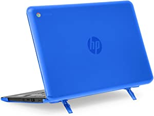 """mCover Hard Shell Case for 11.6"""" HP Chromebook 11 G6 EE / G7 EE / 11a-NBxxxx laptops (NOT compatible with pre-2018 HP C11 G4EE / G5EE) (HP C11 G6EE Blue)"""