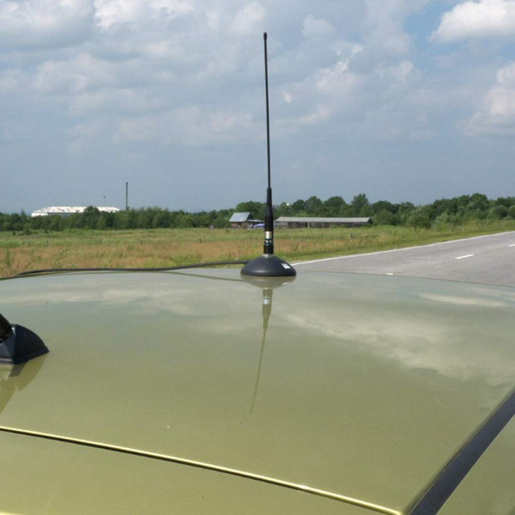magn/ética reemplazo Monte 5M Cable para la Radio m/óvil Kongnijiwa Radio de Doble Banda VHF//UHF 144 430MHz m/óvil del Equipo de Radio Antena NLR2