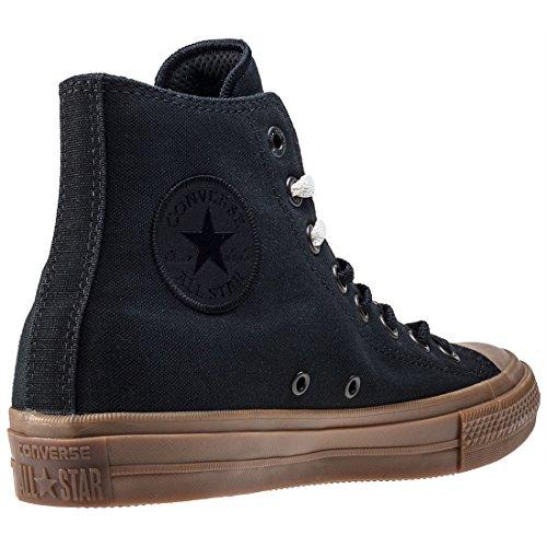 Converse Chuck Taylor All Star Ii Hi Mens Scarpe Da Ginnastica Nero Gomma