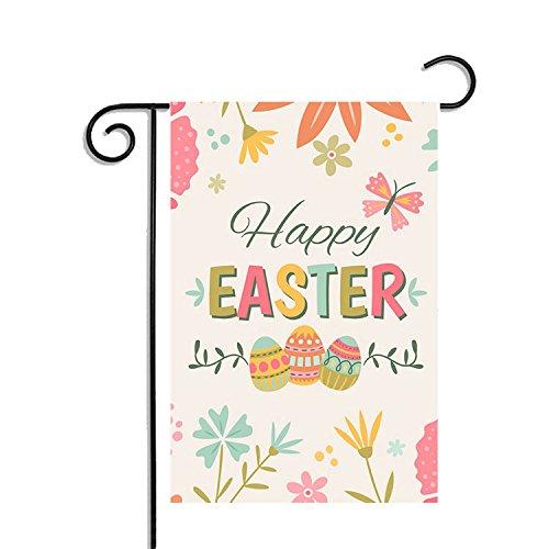 Happy Easter Garden Flag, 12.5