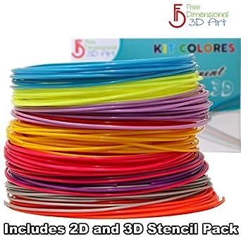 650 + lineal - Paquete de recambio de impresión 3d Pluma filamento ...