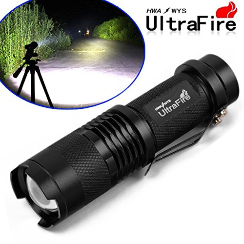 15000 Lumens Focus Tactical Zoomable LED Flashlight - Macy's Largest