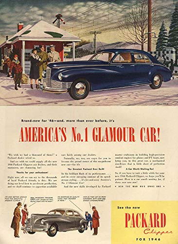 America's No. 1 Glamour Car! Packard Deluxe Clipper for sale  Delivered anywhere in USA