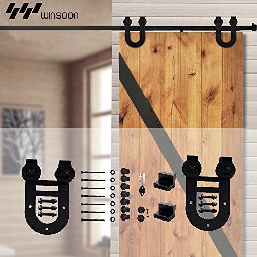8 barn door hardware - 7