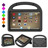PC Hardware : All New Fire 7 2017 Case, Fire 7 2015 Case, Auorld Light Weight Kids Shock Proof Stand Handle Kid-Proof Case Cover for Amazon Fire 7 Tablet(5th Generation,2015 Release/7th Gen,2017) (Black)
