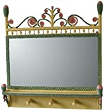 Spice Islands Victorian Coat Rack Mirror, Carousel