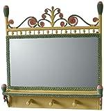 Spice Islands Victorian Coat Rack Mirror, Carousel