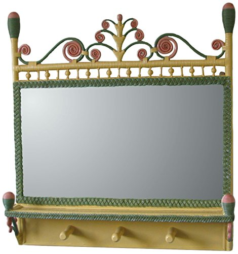 Spice Islands Victorian Coat Rack Mirror, Carousel by Spice Islands