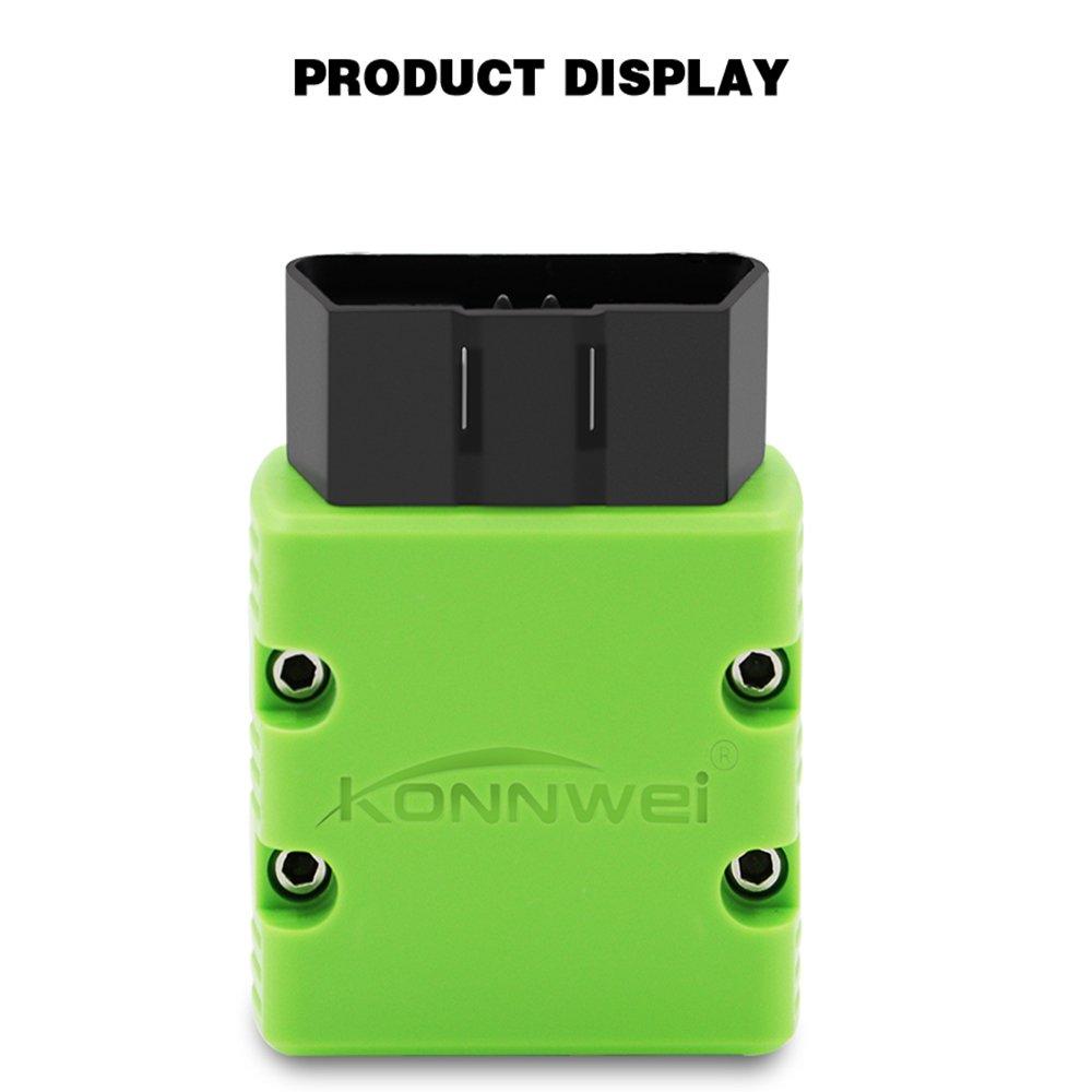Konnwei KW902 mini ELM327 Bluetooth OBD-II Car Diagnostic Scan ...