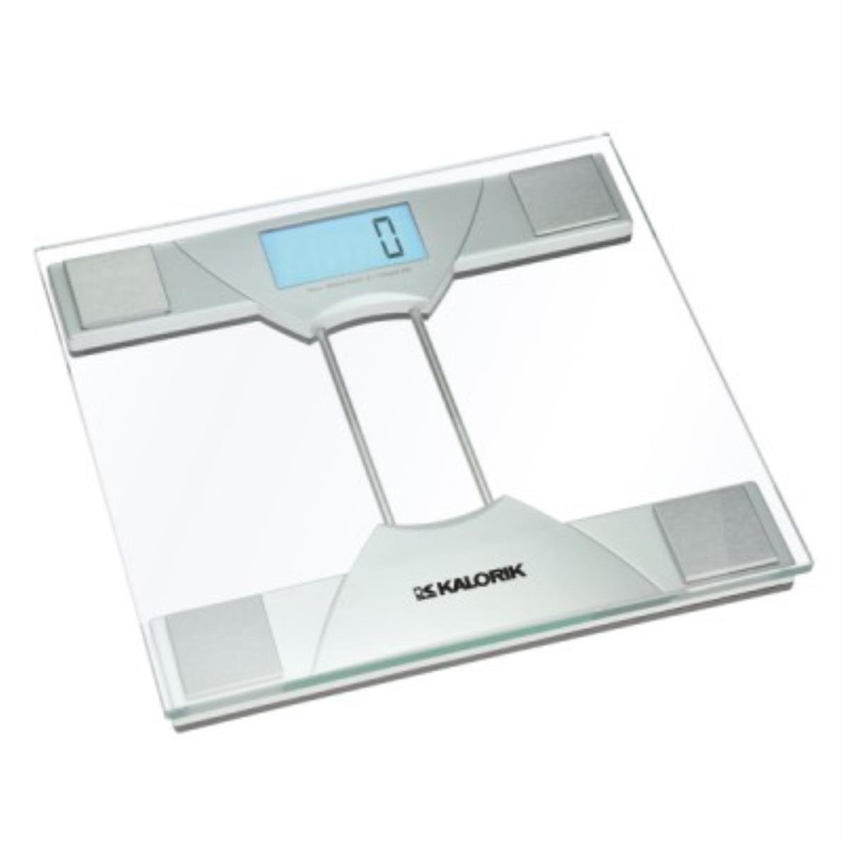 Beau Amazon.com: Kalorik Electronic Bathroom Scale, Silver/Clear: Kitchen U0026  Dining