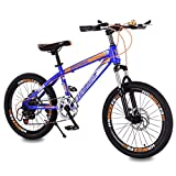 HUALQ Bicycle child bicycle 20 inch 8-12 years old shock absorption speed stroller primary school mountain female boy bicycle