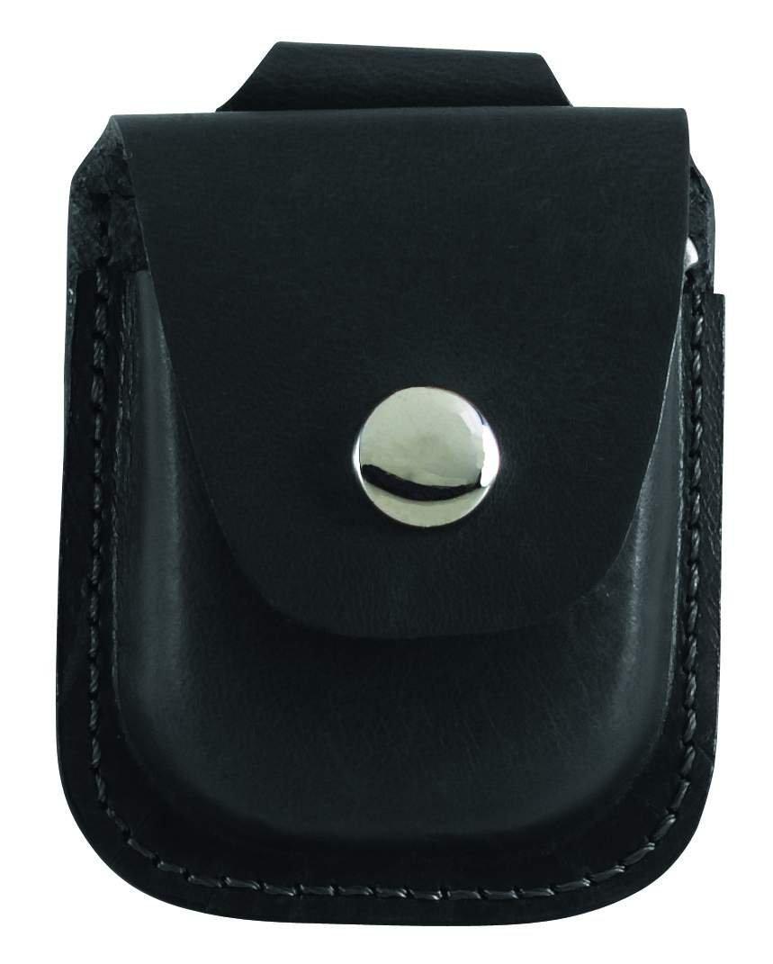 Charles-Hubert, Paris 3572-3 Black Leather 42mm Pocket Watch Holder